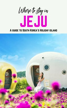 Whether you're looking for fields of flowers, an exhilarating road trip, or barefoot luxury, Jeju is the perfect holiday island for you. Busan, Travel Guides, Travel Tips, Travel Destinations, Travel Europe, Cheap Places To Travel, South Korea Travel, Roadtrip, China Travel