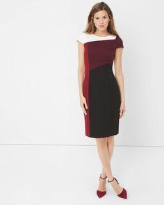 Colorblock Sheath Dress https://twitter.com/ShoesEgminfmn/status/895096133382356992