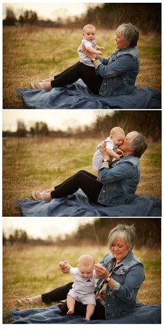 Grandma & Grandson Photo Shoot   Mother's Day   Mothers Day Gift   Baby Boy