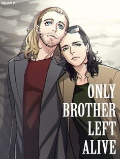 Thor and Loki at Only Brother Left Alive