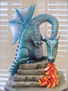 Dragon Breath - Cake by Alisa Seidling
