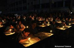 Palestinian children protesting their way, Palestinian children sit-in against the Israeli occupation blockade which deprived Gaza from fuel and therefore the stop of electricity supply. Gaza now is in darkness for the fourth day in a row, 7 November, Energy Crisis, Schools Around The World, Arab World, Gaza Strip, Find A Match, Visit Egypt, Macron, Islamic World, World Peace