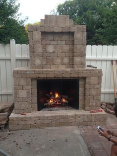 outdoor fireplace, outdoor living, outdoor kitchen, covered patio ...