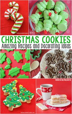 Adorable Christmas Cookie Recipes and Decorating Ideas - Easy Peasy and Fun