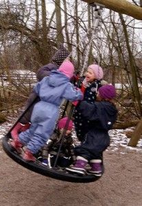 Early Nature Lessons in Denmark's Forest Preschools -The official website of Denmark Outdoor Play, Outdoor Ideas, Early Childhood Education, Teaching Tips, Happy Kids, Play Houses, Denmark, Baby Strollers, Challenges