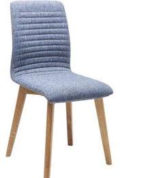 KRZESŁO CHAIR LARA blue KARE DESIGN 81228 planeta design nowoczesne i designerskie krzesła - Planeta Design MEBLE DEKORACJE DESIGNERSKIE NOWOCZESNE KARE INVICTA INTERIOR wysyłka w 48h