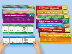 Flip & Read Sight-Word Sentences #LakeshoreDreamClassroom