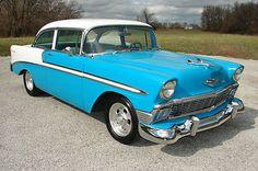 Chevrolet : Bel Air/150/210 STREET ROD 1956 CHEVY - http://www.legendaryfinds.com/chevrolet-bel-air150210-street-rod-1956-chevy/