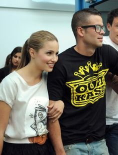 dianna agron and mark salling photoshoot Αναζή�η�η