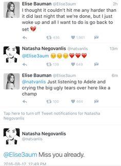 Elise and Natasha