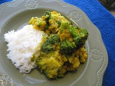 Broccoli Dal Curry from Food.com:   This is an extremely flavourful curry. Vegetarians can use vegetable broth instead of chicken broth. Kids really like this too (with less pepper). Serve with basmati as a side to a more elaborate dinner, or alone, for a simple meal.