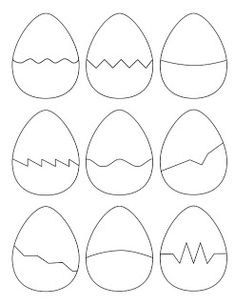 The Puzzle Den - Easter Egg Puzzle Shapes Template eggs template Easter Egg Puzzle Shapes Template Easter Puzzles, Easter Activities For Kids, Preschool Learning Activities, Infant Activities, Preschool Activities, Felt Crafts, Easter Crafts, Easter Egg Template, Art For Kids