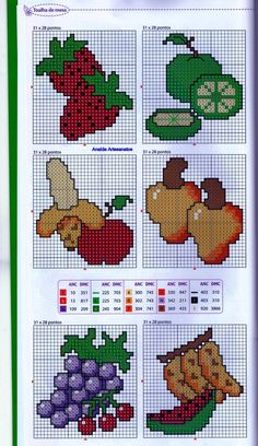 1 million+ Stunning Free Images to Use Anywhere Tiny Cross Stitch, Cross Stitch Fruit, Cross Stitch Kitchen, Cross Stitch Bookmarks, Simple Cross Stitch, Cross Stitch Flowers, Cross Stitching, Cross Stitch Embroidery, Disney Cross Stitch Patterns