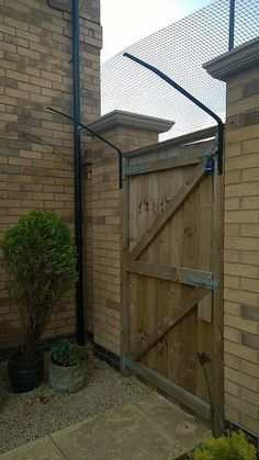 ProtectaPuss Garden Barriers: for cat owners with existing perimeter fencing …