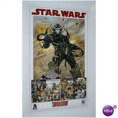 2008 STAR WARS INVASION LUKE SKYWALKER DHC PROMO POSTER Listing in the Posters,Comics,Books, Comics  & Magazines Category on eBid United States | 28524463