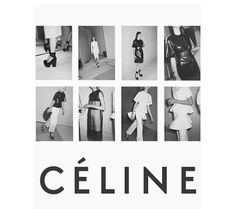Celine poster :) I want to print this out for my room :) only the bottom with the bags I like Mode Lookbook, Fashion Lookbook, Celine Logo, Editorial Design, Editorial Fashion, Editorial Layout, Victoria Tornegren, Lookbook Layout, Viviane Sassen
