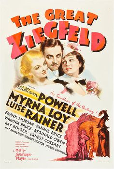 The Great Ziegfeld - 1936 Outstanding Production (Hunt Stromberg for MGM); Best Dance Direction (Seymour Felix).