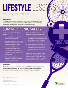 Lifestyle Lessons: Summer Picnic Safety