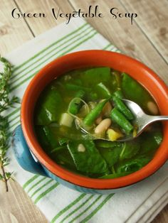 Green Vegetable Soup Recipe -