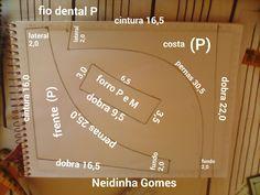 Aqui você encontra uma variedade de moldes pra confecção de peças íntimas e vestuário em geral.