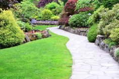 landscape design ideas front yard florida - landscaping images front of house - sloped backyard landscaping ideas on a budget , , , , Sloped Backyard Landscaping, Landscaping Ideas, Backyard Ideas, Florida Landscaping, Pergola Ideas, Crazy Paving, Path Ideas, Walkway Ideas, Paving Ideas