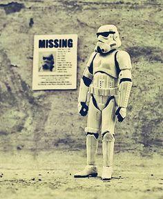 Stormtroopers Family – Stars Wars vu par Leah Minium