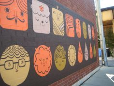 mural by Laura Berger, Chicago