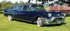 1957 Cadillac custom Limousine #ClassicCars #CTins