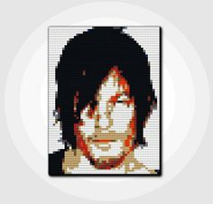 LEGO The Walking Dead Daryl Dixon    30 Day Money Back Guarantee by GiftABrickMosaics, $324.00
