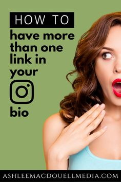 You get one link in your Instagram bio. Use this trick to make the most out of it for your small business' social media marketing. #ashleemacdouellmedia #instagramtips #entrepreneur #socialmediamarketing Social Media Management Tools, Social Media Tips, Social Media Marketing Business, Instagram Bio, Online Coaching, Entrepreneur, Link