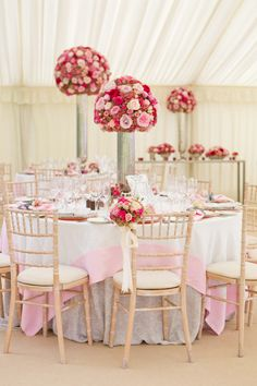 #chiavari, #centerpiece  Photography: Catherine Mead Photography - photographybycatherine.co.uk Event + Floral Design + Planning: By Appointment Only Design - byappointmentonlydesign.com/  Read More: http://www.stylemepretty.com/2013/06/19/cotswold-england-wedding-from-catherine-mead-photography/
