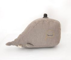 umbilical whale soft toy