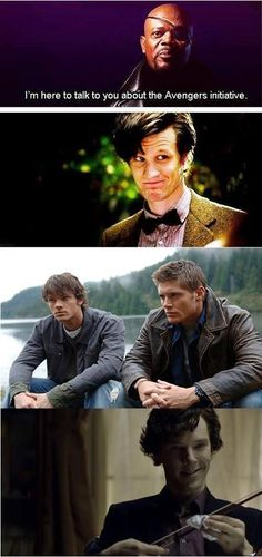 The dream team for the inhuman humans, the supernatural, & the alien.