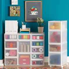 Like-it Clear Stackable Drawers | The Container Store