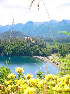 Lago Espejo 2007. Camino de los siete lagos. Argentina