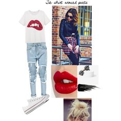 Lips of a genius by sunnymuffins96 on Polyvore featuring polyvore, fashion, style, Boohoo, Converse, Spitfire, Charlotte Tilbury and Urban Decay