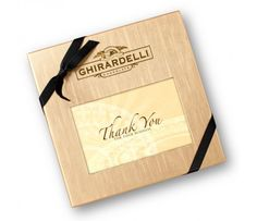 #GhirardelliChocolate Thank You for Your Business Deluxe Gift Box with SQUARES Chocolates - Thank You - SHOP GIFTS - SHOP PRODUCTS