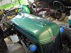 Custom Painted 1951 Ford Tractor