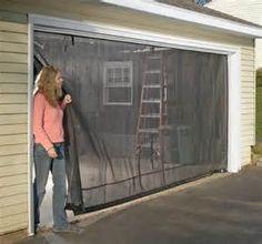 2017 roll up garage door net windows quietest garage door screen ideas the better garages - Sliding Garage Door Screen