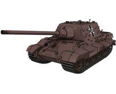 駆逐戦車ヤークトティーガー Anime Military, Tank Destroyer, High School Girls, Armored Vehicles, Ghostbusters, Military Vehicles, World War, Godzilla, Pocket