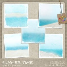 Great for beach pages