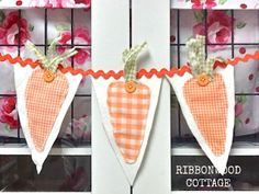 Ribbonwood Cottage: DIY 5 Spring Projects with Free Pattern