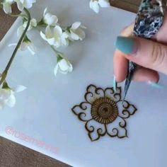 Mehndi Designs For Kids, Henna Tattoo Designs Simple, Floral Henna Designs, Mehndi Designs Feet, Simple Arabic Mehndi Designs, Mehndi Designs Book, Full Hand Mehndi Designs, Mehndi Designs 2018, Mehndi Designs For Beginners