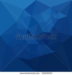 Low polygon style illustration of a egyptian blue abstract geometric background. #abstractbackground #lowpolygon #illlustration