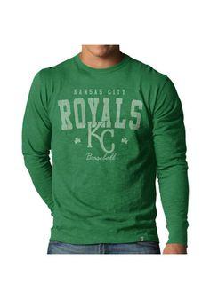 Kansas City Royals Kelly Green Mens Long Sleeve T-Shirt http://www.rallyhouse.com/mlb/al/kansas-city-royals/a/mens/b/t-shirts/c/long-sleeve?utm_source=pinterest&utm_medium=social&utm_campaign=Pinterest-KCRoyals $42.99