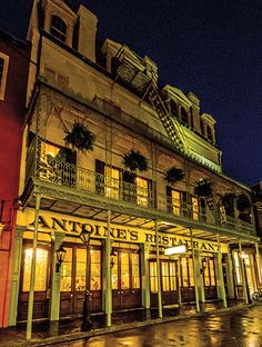 The iconic Antoine's turns 175: Travel Weekly