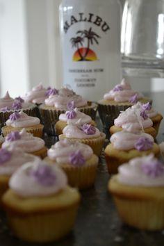 Malibu Bay Breeze Cupcakes