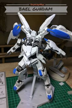 Gunpla Build - Gundam Bael Full Mechanics