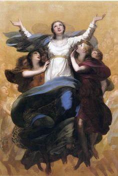 Assumption Of Virgin Mary Paintings Assumption Of The Blessed Virgin Mary Women For Faith And Family