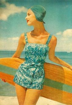 '50s Surfer Girl - Fashion Flashback - Photos